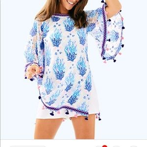 Lilly Pulitzer Pants - $300 NEW OUT OF STOCK Jacklin Seaspray Romper 0 XS